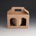 Jarbox 3. Box for 2 12oz jars. (Pack Of 10)