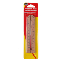 Brannan 150mm Wdn Wall Thermometer