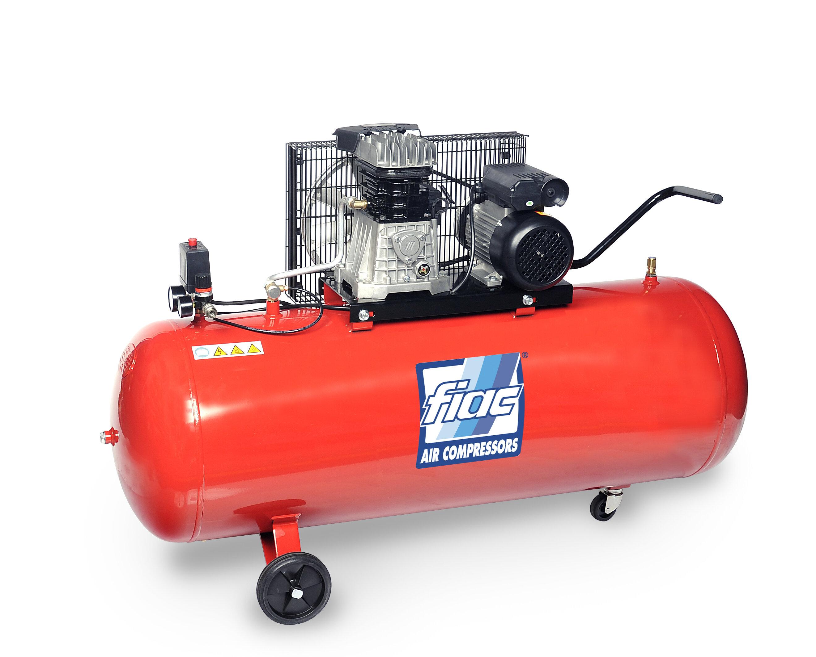FIAC 7.5HP 300 LTR 400 VOLT COMPRESSOR (AB300/850) (146.654.0000) CFM29.3