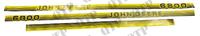 Kit d'autocollants John Deere 6800
