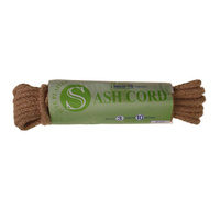 Jute Sash Cord No 3, 5mm x 10m (C584)