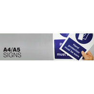 A4 and A5 Signs