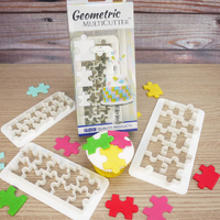 GEOMETRIC MULTICUTTER- PUZZLE, SET/3