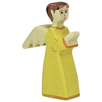 Holztiger Angel 2, orange