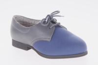 Cosyfeet Navy Stretchy Ladies Shoe (Susan)