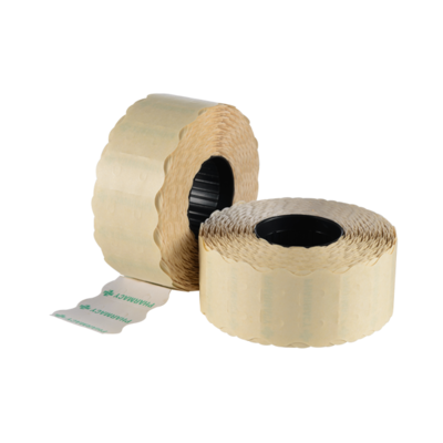 LYNX Sato 26 type 26x12mm white removable printed 'Pharmacy' (Box 45k)