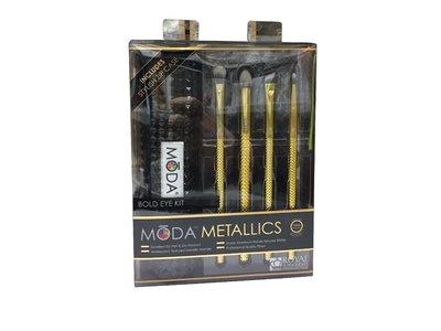 Royal And Langnickel Metallic Bold Eye 5PC Brush Kit