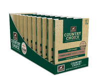 Gelert Country Choice Dog Trays Turkey 395g x 10