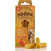 Soopa Dental Sticks - Carrot & Pumpkin 4-Stick 100g x 1