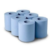 Blue Centrefeed Roll