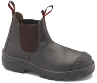 John Bull Fusion Nitrile Sole Slip On Safety Boot With Toe Guard Claret