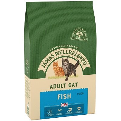 James Wellbeloved Adult Cat Fish 10kg