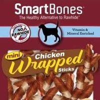 SmartBones Chicken Wrapped Mini Sticks 9-pk x 8