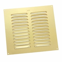 Vent 225x225 (9x9) Brass