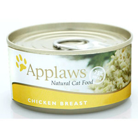 Applaws Cat Can - Chicken Breast Flake in Broth 156g x 24