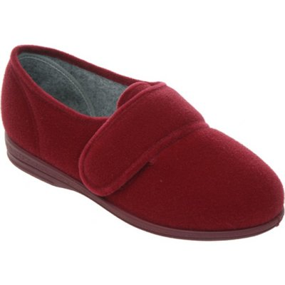 Cosyfeet Burgundy Slipper (Holly)