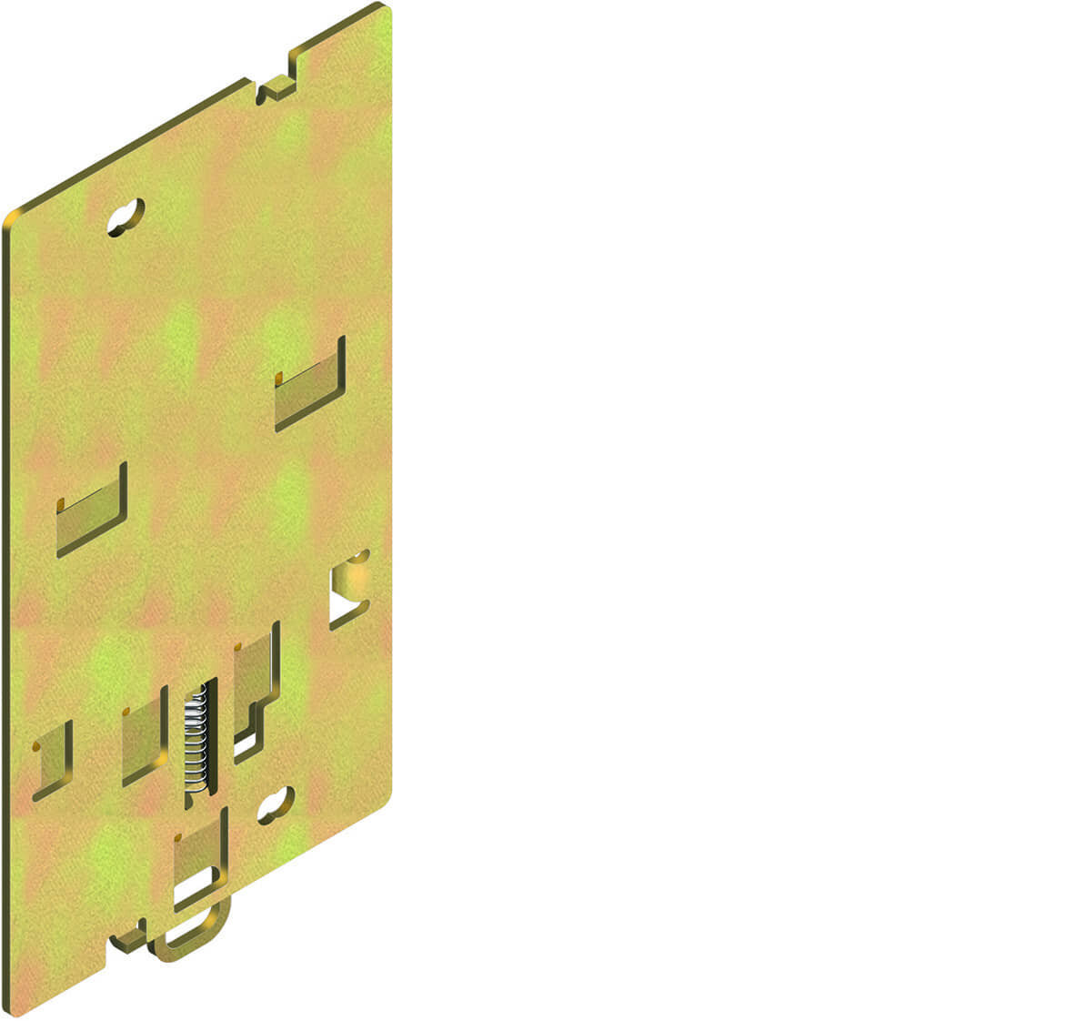 1SDA023328R1 ABB SACE Dinrail Mounting Plate for S1 3-4Pole (Isomax)