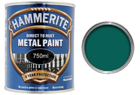 5092825 HM METAL PAINT SMOOTH DARK GREEN 750ML