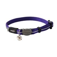 Rogz Alleycat Cat Collar - Purple x 1