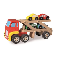Wooden Car Transport Truck