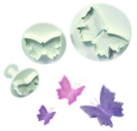 PMEBU910 Veined Butterfly Plunger 3pce