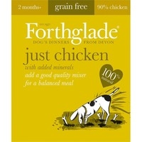 Forthglade Adult Dog Tray Just Chicken 395g x 18