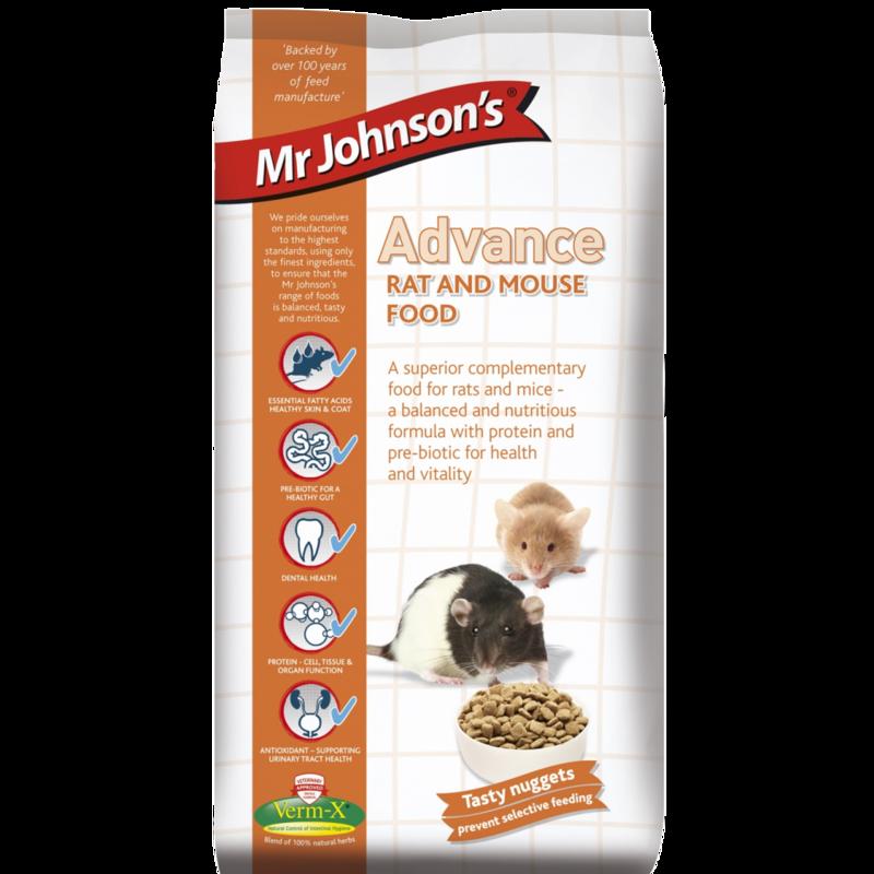 Mr Johnsons Advance Rat & Mouse 750g