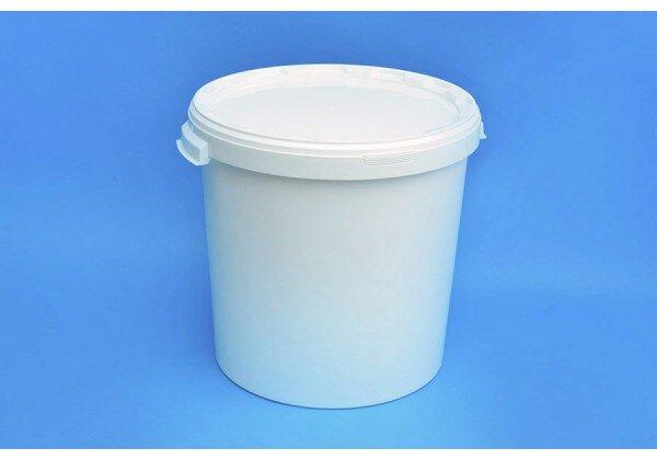 White Food Bucket 25lt