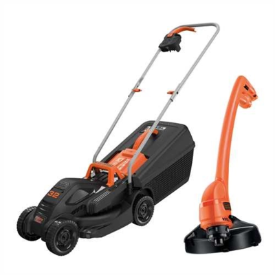 BLACK & DECKER 32CM ROTARY MOWER + GL250 STRIMMER