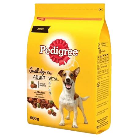 Pedigree Adult Vital Chicken Small Dog Food 5 x 900g