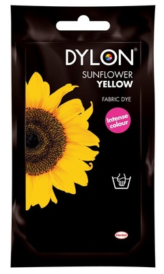 Dylon Hand Dye Sachet Sunflower Yellow 05 50G