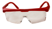 DMI - ADULT GLASSES RED FRAME