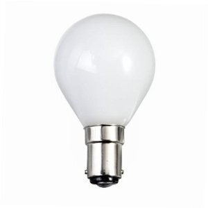 EVEREADY OPAL GOLFBALL LAMP B15 60W ROUGH SERVICE