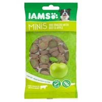 Iams Minis Dog Treats - Beef & Apple 100g x 16