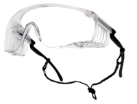 Bolle Squale AS/AF Safety Overspectacles Clear SQUPSI