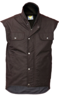 CT Oilskin Fleece Lined Sleeveless Vest