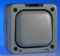 10A 1GANG OUTDOOR SWITCH IP56