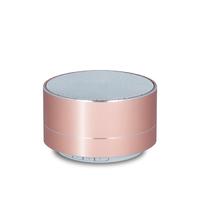 Bluetooth Speaker FM Radio MicroSD Rose Gold