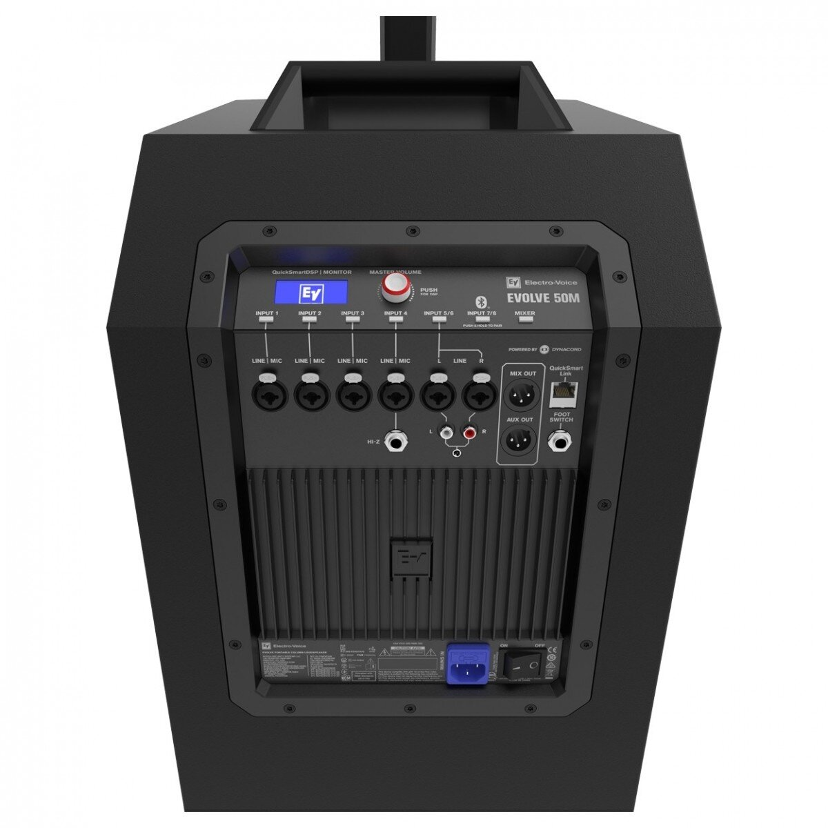 EV Evolve 50M Portable Column PA System   Black