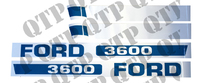 Decal Kit Ford 3600