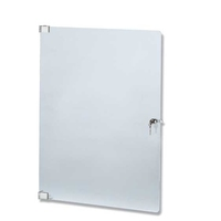 Euromet 00542 | Lockable plexiglass front door, 18U