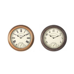 Bickerton Wall Clock & Thermometer 30cm