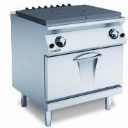 Single Hot Plate 9kw Gas Oven 8kw 800x730x870-900mm
