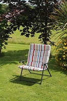 Marine Padded Folding Two Position Chair