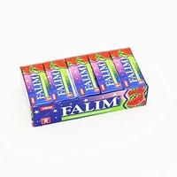 Turkish Chewing Gum 5 Pack (Kent Falim Cilekl) (Strawberry)