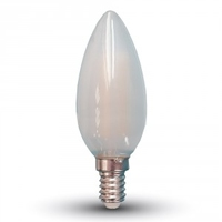 4W Filament Candle E14 Frost Cover 4000K