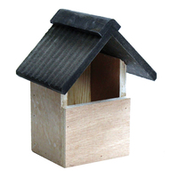Kingfisher Deluxe Wooden Bird Nesting Box - BF017HD (BF017HD)