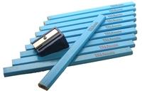 Tala 10pce Carpenters Pencils c/w Sharpener