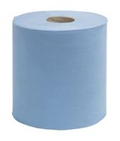 CENTREPULL TOWEL BLUE 150 MTR 2 PLY