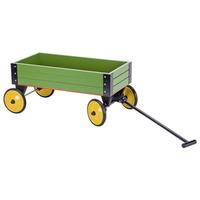 Children's Green Pull-along Cart